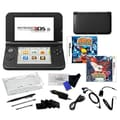 Nintendo® 3DS XL W/ Pokemon Y and Naruto Ninja Destiny Games & 17 in 1 Accessory Kit Bundles