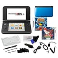 Nintendo® 3DS XL W/ Pokemon Y & Naruto Ninja Destiny Games & 17 in 1 Accessory Kit Bundles