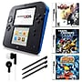Nintendo® 2DS Bundle W/ 3 Games and Accessories,