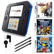Nintendo® 2DS Bundle W/ 3 Games and Accessories, Blue