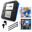 Nintendo® 2DS Bundle W/ 2 Games and Accessories, Blue