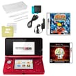 Nintendo® 3DS Bundle W/ 2 Games and Accessories, Red