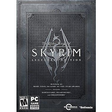 Bethesda® 11899 The Elder Scrolls V Skyrim Legendary Edition, PC