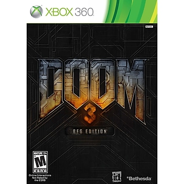 Bethesda® 11832 Doom 3 BFG Edition, Action/Adventure, Xbox 360