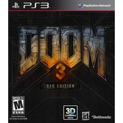 Bethesda® 11833 Doom 3 BFG Edition, Action/Shooter, Playstation® 3