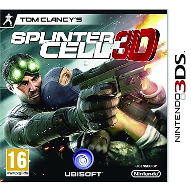Ubisoft® 16675 Tom Clancy's Splinter Cell, Action/Adventure, Nintendo® 3DS