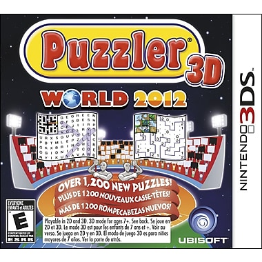 Ubisoft® 16739 Puzzler World 2012, Compilation, Nintendo® 3DS