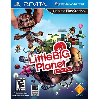 Sony® 22018 Little Big Planet, Action Adventure, Playstation® Vita