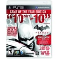 Warner Bros 1000279653 Batman Arkham City GOTY, Action/Adventure, Playstation® 3