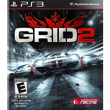 Warner Bros. 1000353067 Grid 2, Everyone, Playstation® 3