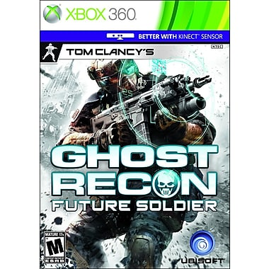 Ubisoft® 52607 Tom Clancy Ghost Recon Future Soldier, Action/Adventure, Xbox 360