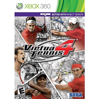 Sega® 68053, Virtua Tennis 4, Sports & Outdoors, Xbox 360