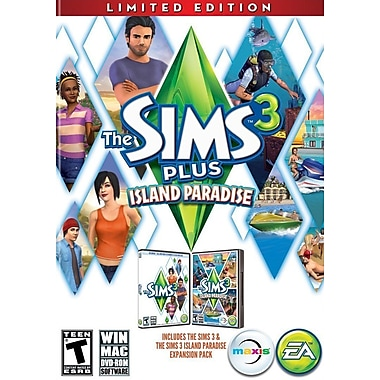 Electronic Arts™ 73108 Sims 3 Plus Island Paradise, PC