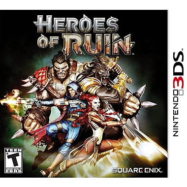 Square Enix® 91106 Heroes of Ruin, Action/Adventure, Nintendo® 3DS