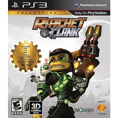 Sony® 98282 Ratchet and Clank Collection, Action/Adventure, Playstation® 3