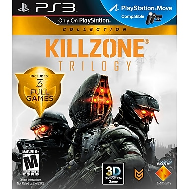 Sony® 99075 Killzone Trilogy, Action /Shooter, Playstation® 3