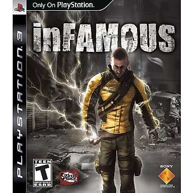 Sony® 99074 Infamous 1 and 2 Dual Pack, Action/Adventure, Playstation® 3