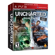 Sony® 98375 Uncharted 1 and 2 Dual Pack, Action/Adventure, Playstation® 3