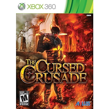 Atlus® CC-90003-9 The Cursed Crusade, Action/Adventure, Xbox 360