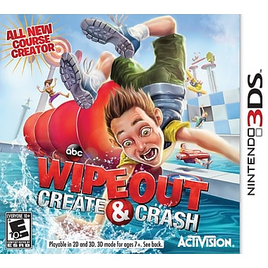 Activision® Blizzard® 76770 Wipeout Create Crash, Action Sports, Nintendo® 3DS