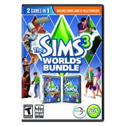 Electronic Arts™ 73121 Sims 3 Worlds Bundle, PC