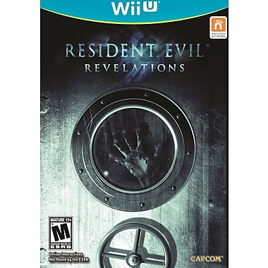 Capcom® 39002 Resident Evil® Revelations, Action/Adventure, Wii U