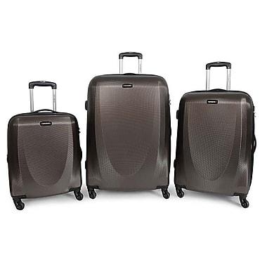 Samsonite Pursuit NXT 3-Piece Spinner Suitcase Set, Brown