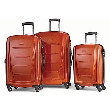 Samsonite Winfield 2 Fashion 3-Piece Spinner Suitcase Set, Orange
