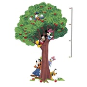 RoomMates® Mickey & Friends Peel and Stick Metric Growth Chart Wall Decal, 39 1/4 x 60