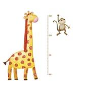 RoomMates® Giraffe Peel and Stick Metric Growth Chart Wall Decal, 22 1/2 x 43 3/4
