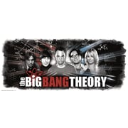 RoomMates® Big Bang Theory Wall Graphic Peel and Stick Giant Wall Decal, 18 x 40