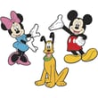 RoomMates® Mickey & Friends Characters Foam Wall Decal