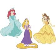 RoomMates® Disney Princess Foam Characters Wall Decal