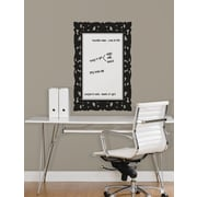 RoomMates® Ornate Frames Dry Erase Peel and Stick Giant Wall Decal, Black