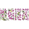 RoomMates® Fuchsia Flower Arrangement Peel and Stick Wall Decal, 18in. x 10in.