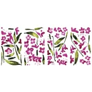 "RoomMates® Fuchsia Flower Arrangement Peel and Stick Wall Decal, 18"" x 10"""