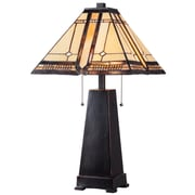 Kenroy Home Amble Wood Table Lamp, Oil Rubbed Bronze
