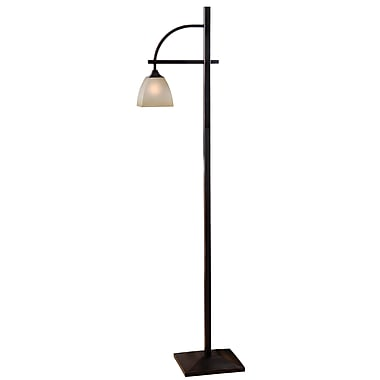 Kenroy Home 100 W 1 Light Rectangle Arch Floor Lamp, Oil Rubbed Bronze