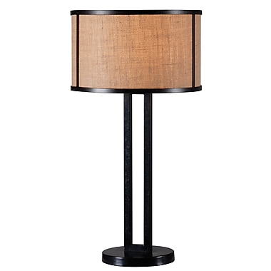 Kenroy Home Keen Table Lamp, Bronze
