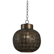 Kenroy Home 16 x 13 x 13 1 Light Mini Pendant, Aged Bronze