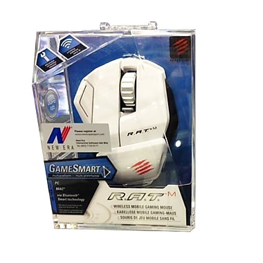 RAT M Wireless Gaming Mouse, White