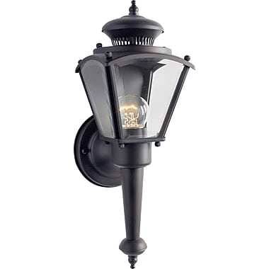 Aurora® 1 Light Outdoor Lanterns W/Clear Beveled Glass Shade