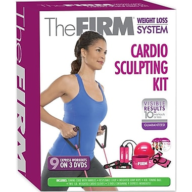 Gaiam® The FIRM Weight Loss System: Cardio Sculpting Kit with DVD