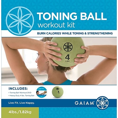 Gaiam® Toning Ball Workout Kit with DVD