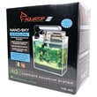 Aquatop Aquatic Supplies Nano Sky Complete Aquarium Kit; 13.1'' H x 8'' W x 8'' D