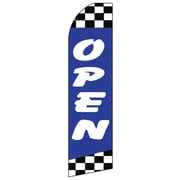 Swooper Message Banner Kits with Pole & Ground Spikes