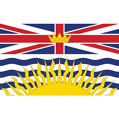 Provincial Flag, British Columbia, 36