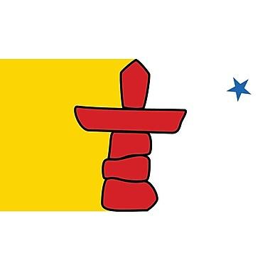 Provincial Flag, Nunavut, 36