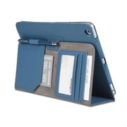 Comercio™ Soft Folio Case & Stand for iPad® Air, Blue