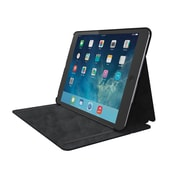 Comercio™ Hard Folio Case & Adjustable Stand for iPad® Air, Black
